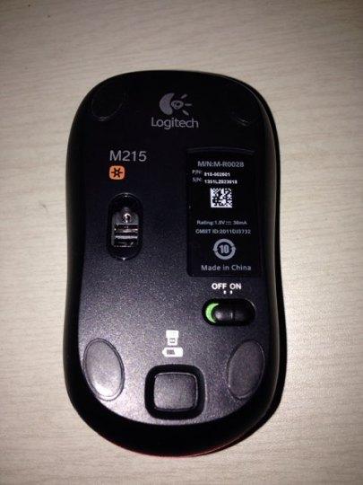 罗技m215无线鼠标点评