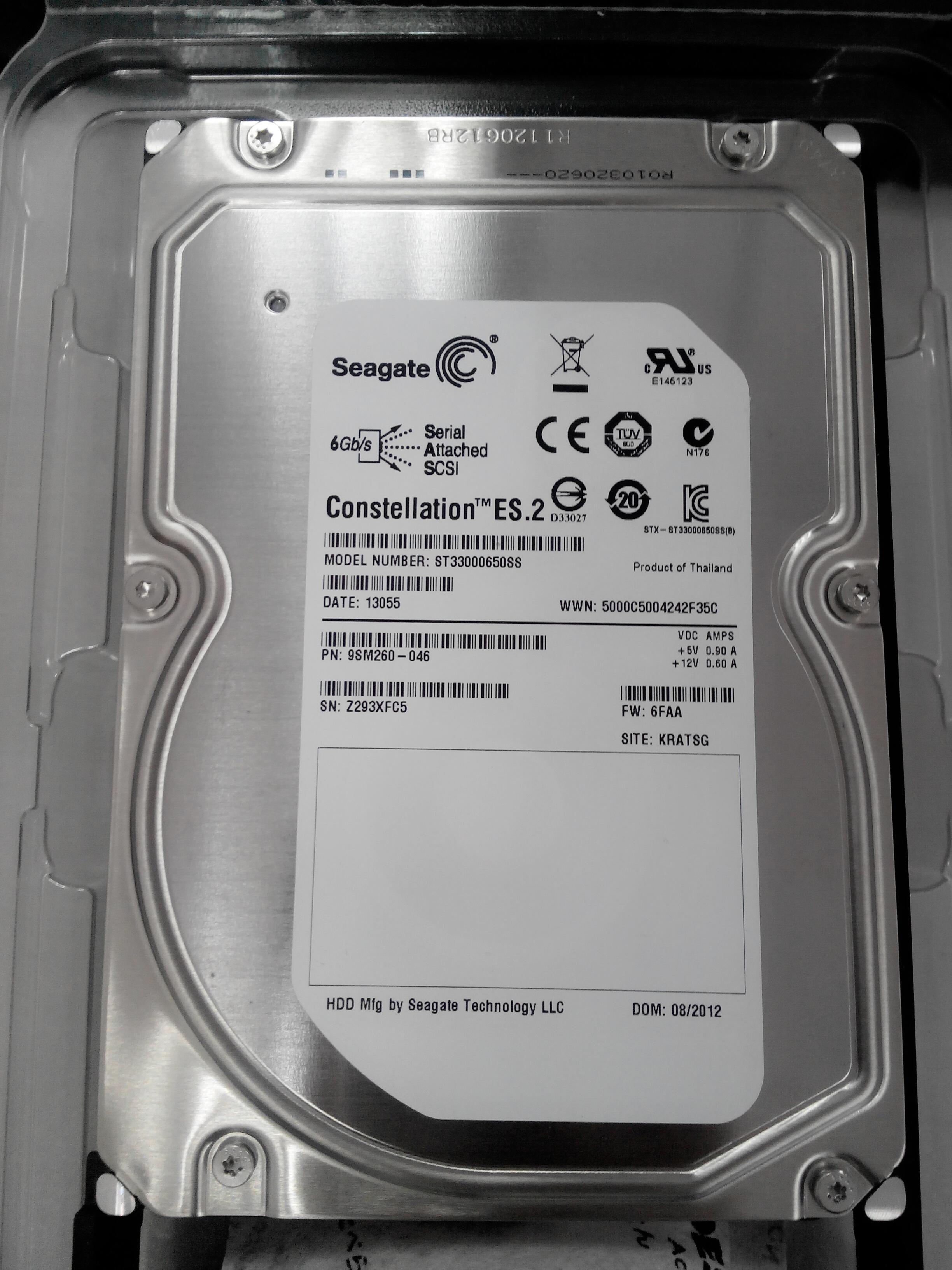 希捷7200转 sas2台式机硬盘点评