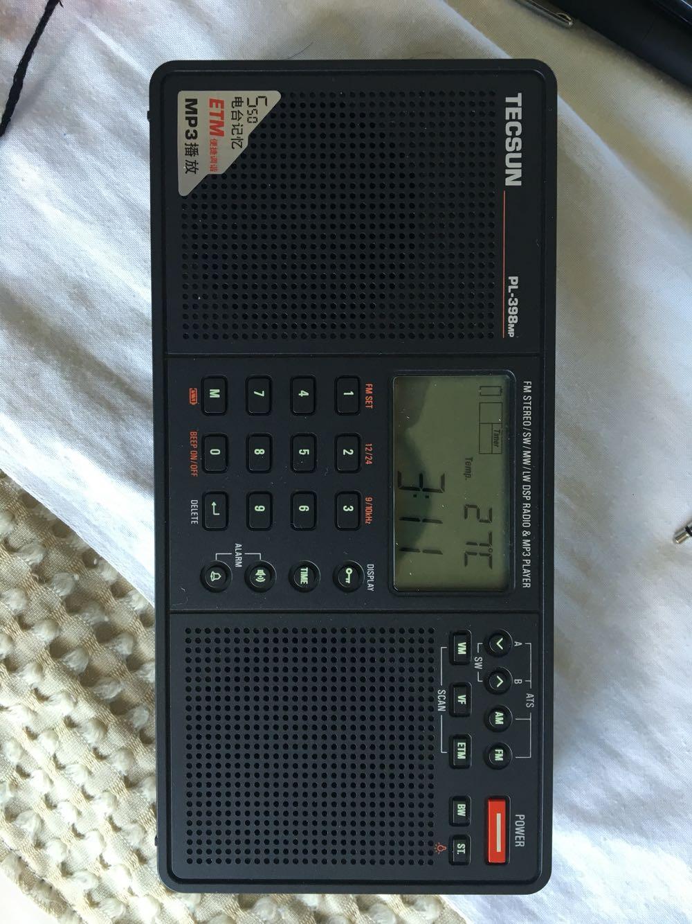 指南针 好乐宝指南针 德生pl-398mp 点评  收音机确实好用.给爸.