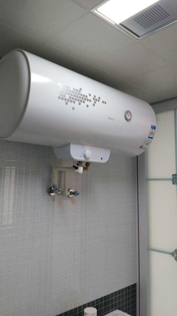 电热水器 海尔电热水器 海尔超能战机系列 点评  送货和安装很及时